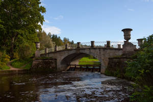 Stone Bridge 2 by ManicHysteriaStock