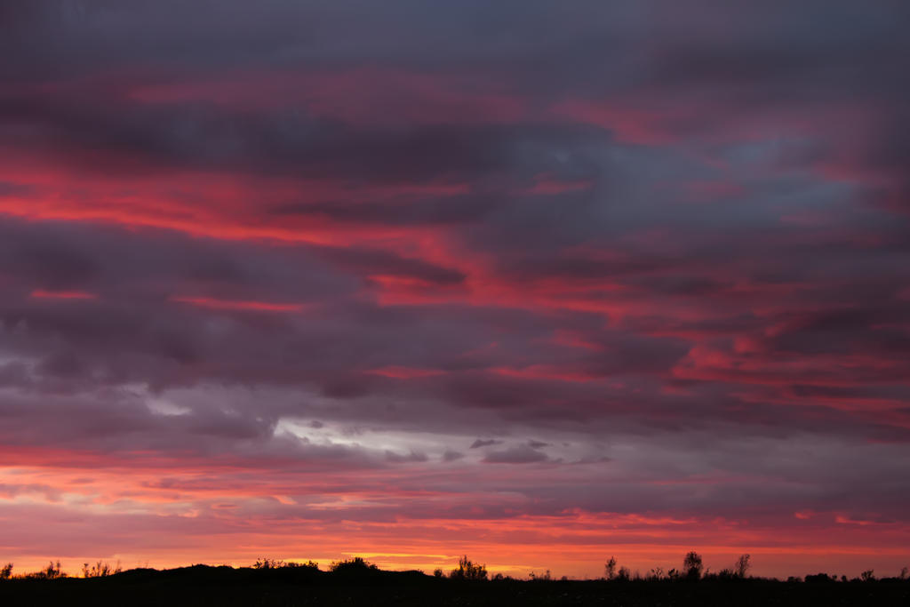 Cold Sunset by ManicHysteriaStock