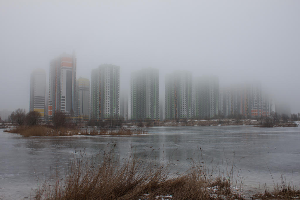 Fog in the city 9