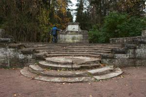 Round Stairs by ManicHysteriaStock