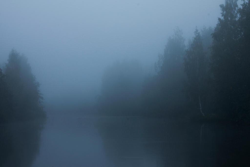 Foggy Lake Twilight 2