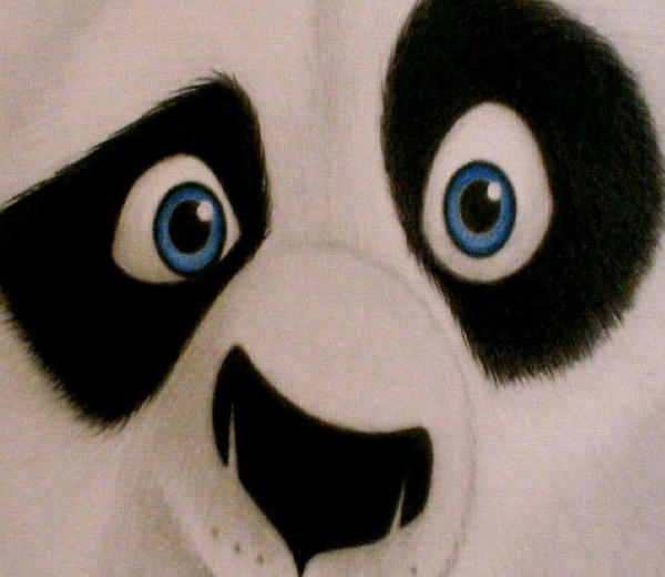 CLOSE PANDA by sinsenor