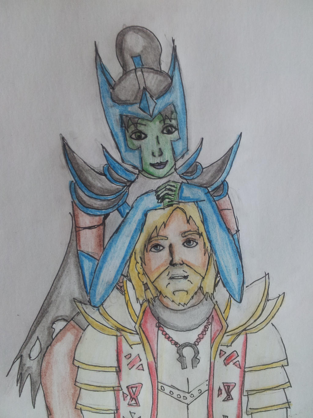 phantom assassin and omniknight dota 2 by son of wolf power on