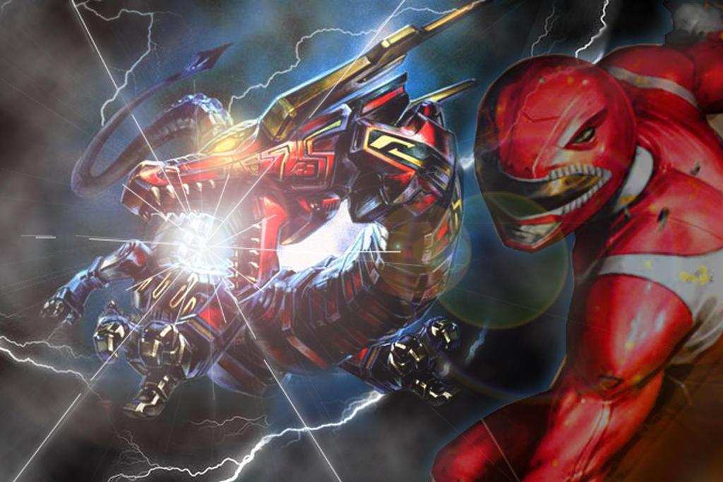 Red Dragon Thunderzord wallpaper by JoeShiba on DeviantArt