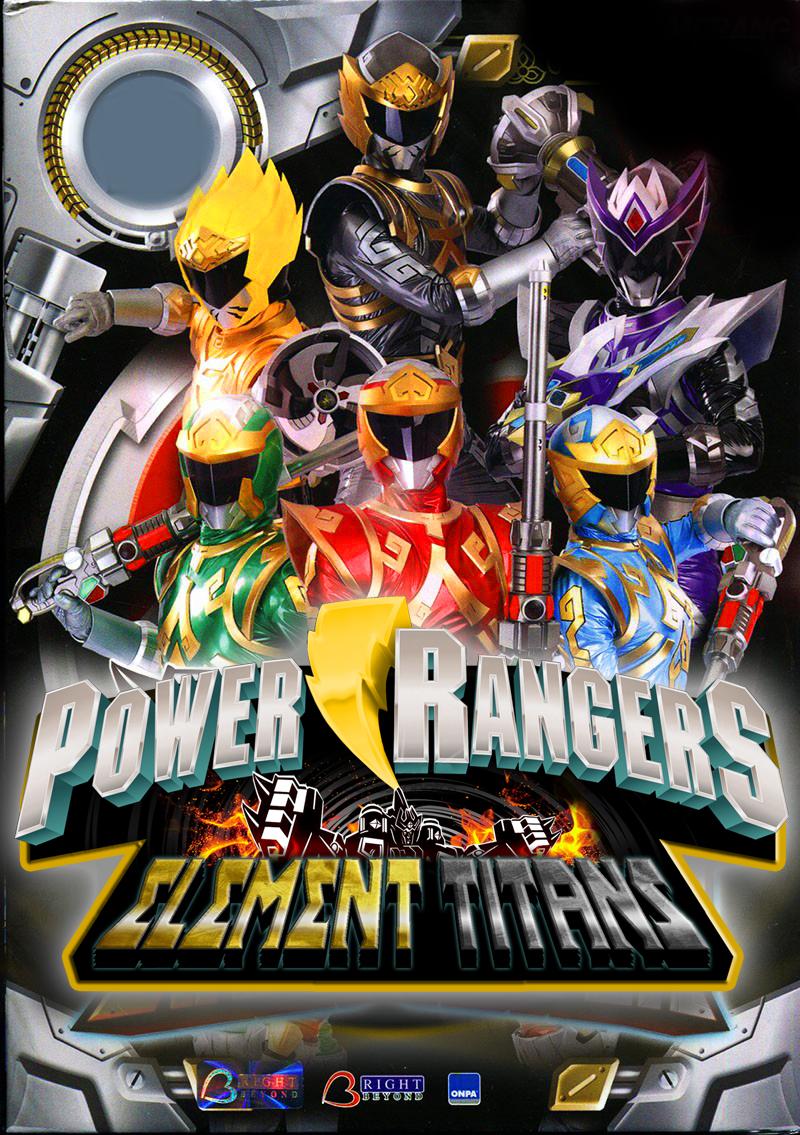 Power Rangers Element Titans By Joeshiba On Deviantart