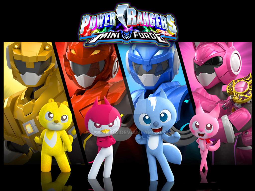 power rangers mini force by joeshiba on deviantart