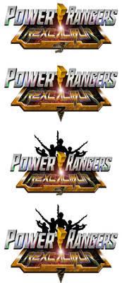 Power Rangers RexCalibur logo comissions