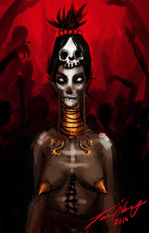 Necromancer by Cashda