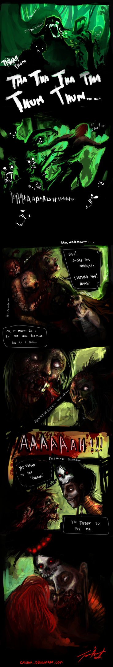 Witchdoctor (comic page 2) by Cashda