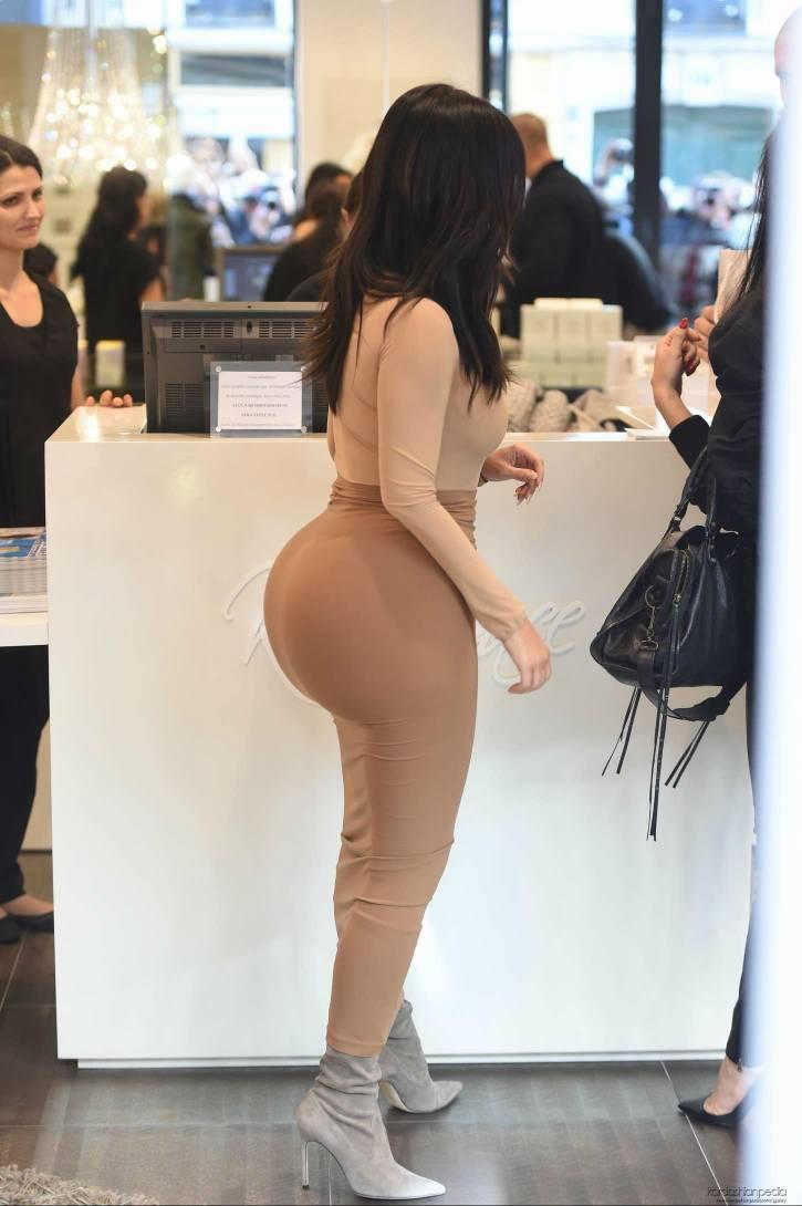 Booty kardashian Kardashian and