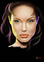 Angelina jolie... by jht888