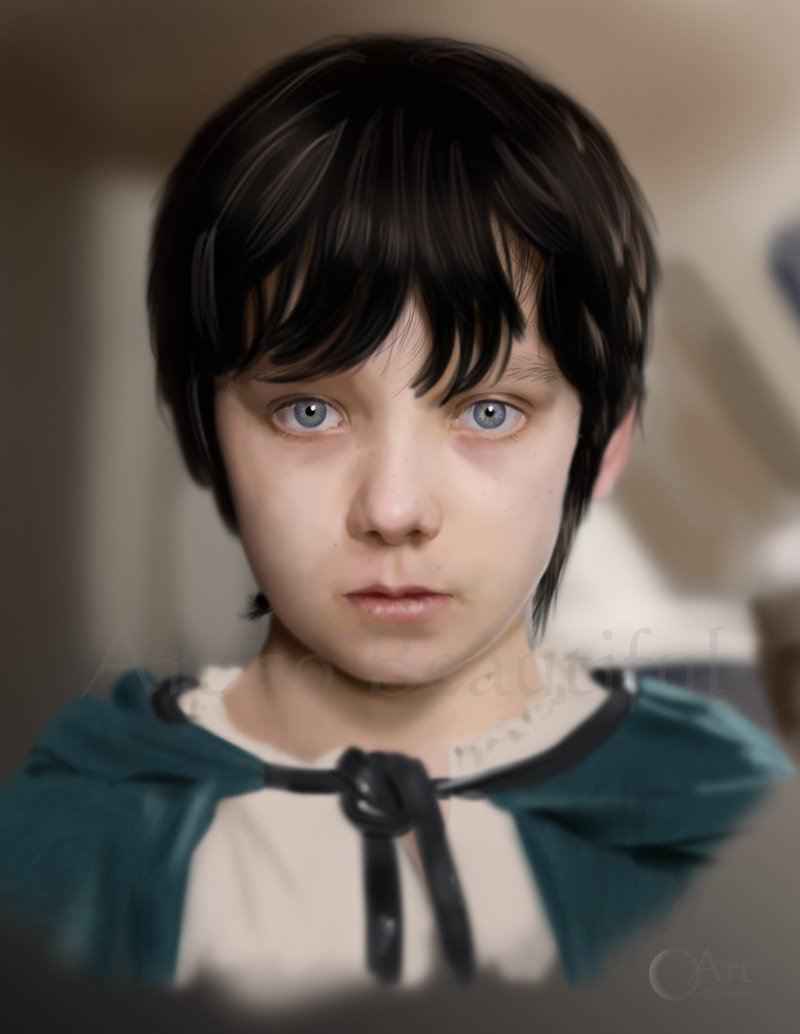 A Painting of the Young Mordred by jht888