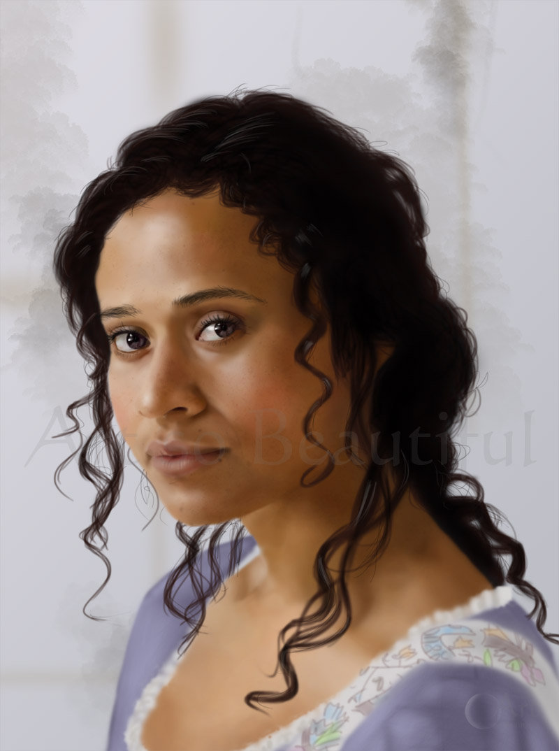 A Painting of Guinevere by jht888