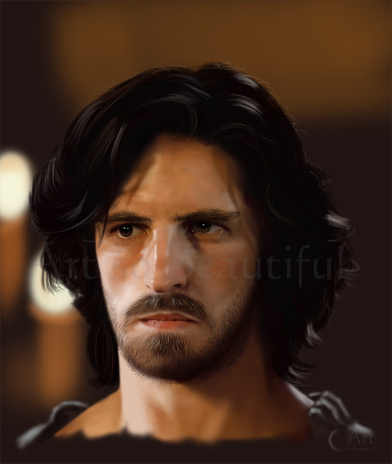 A Painting of Gwaine by jht888