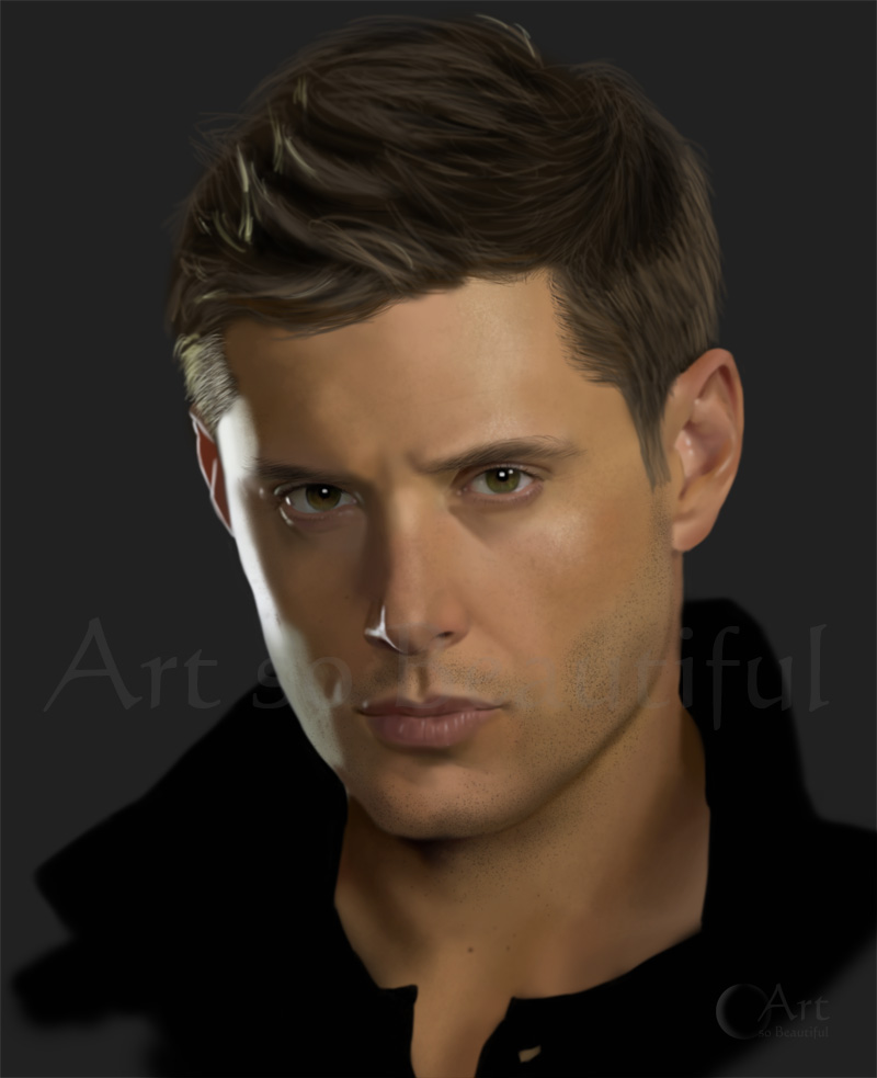A Painting Of Dean Winchester By Jht888 On Deviantart
