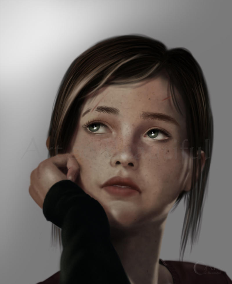 A Painting of Ellie by jht888
