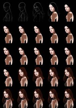 Amy Pond Steps/Tutorial