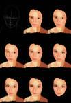 Steps of a portrait