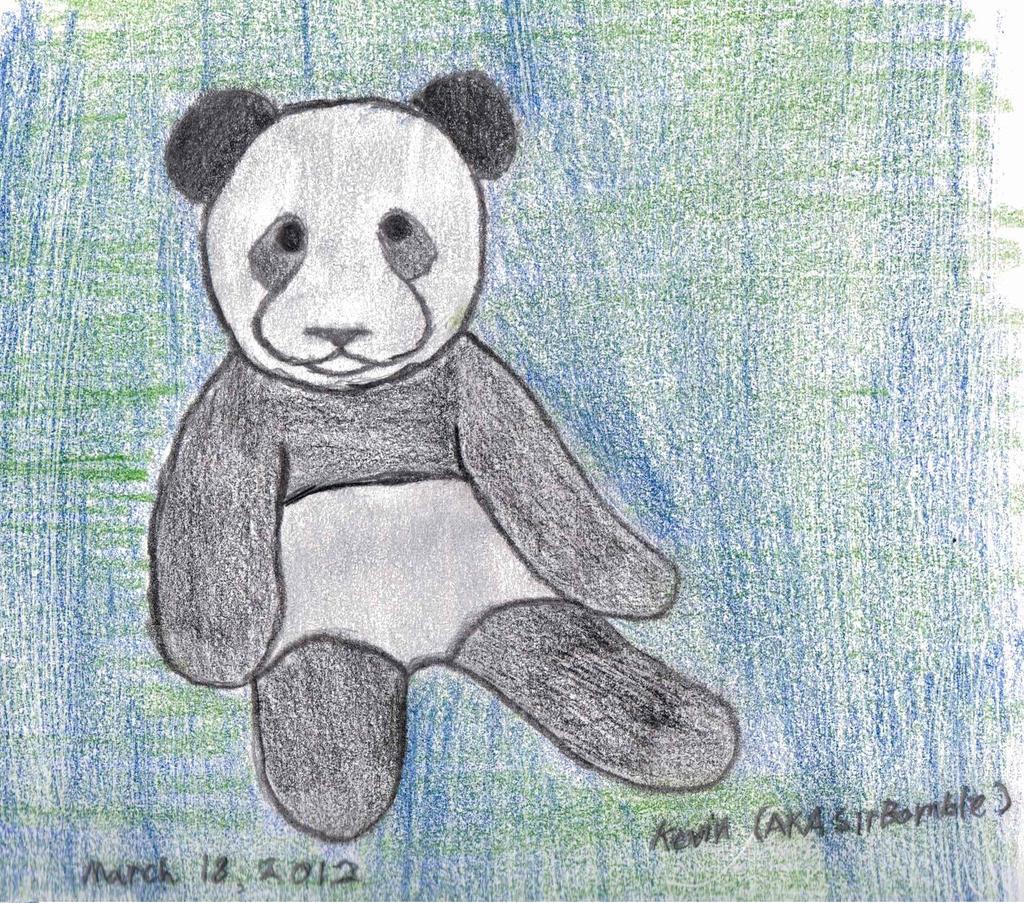 Flufy Panda! by SirBomble