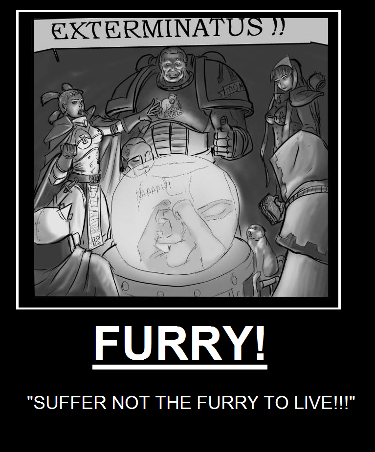 Daily Story Thread - Page 3 SUFFER_NOT_THE_FURRY_TO_LIVE_by_Juskan