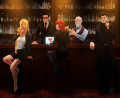 -COMMISSION- A Night At The Bar