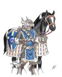DragonBorn Eldritch Knight (Commission 161007)