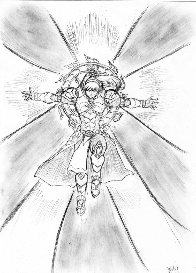 Cr Shura Nirvana Pose By Wolveforger On Deviantart