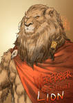 Weretober 5- Lion