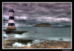 Lighthouse and Puffin Island