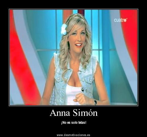 Anna Simon no es solo tetas by NoehJuanGeradicta
