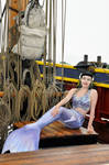 Mermaid on the Jolly Roger from Once Upon A Time