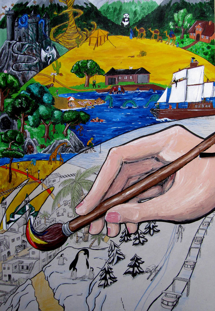 Fantasy World by sonnesama
