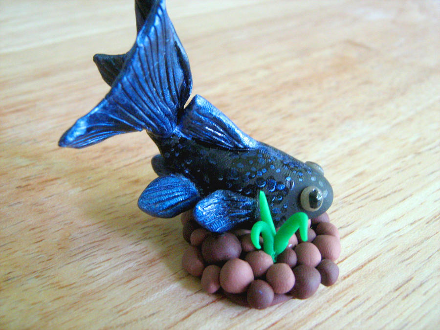how to make fish from clay
