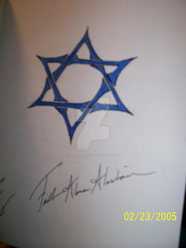 Tribal Star of David by faithlessfate on DeviantArt