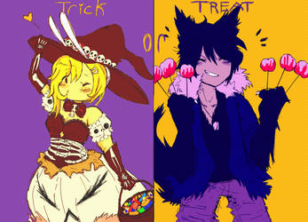 Trick Or Treat, w/ FioLee by s0s0chan