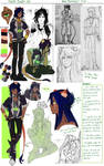 Gijinka (human!) Scar Process by s0s0chan