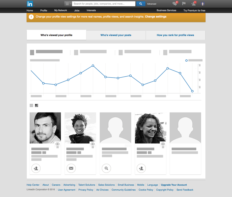 linkedin how to see who viewed profile