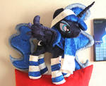 Winter Princess Luna plush
