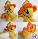 Adagio Dazzle beanie pony plushie