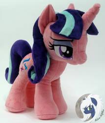 Starlight Glimmer pony plushie by MalwinaHalfMoon