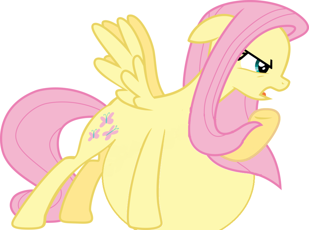 Nopony messes with MY BELLY! by Fluttershy--Vore on DeviantArt Anthro Fluttershy Vore