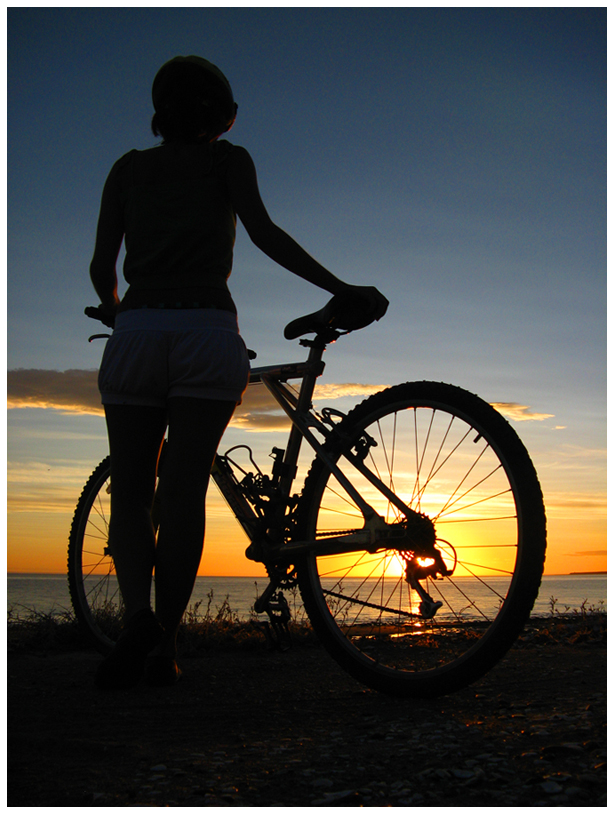 biking in Peninsula Valdes by lil0