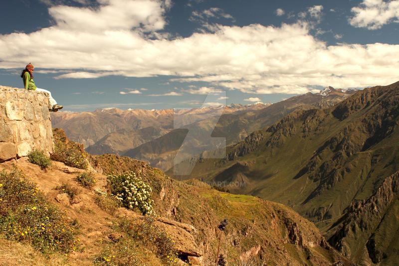 Canion del Colca -  Peru by lil0