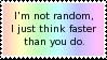 Random Stamp {STAMP} by BeliefOfUnicorns