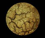 037 Cracked Rock Sphere