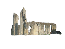 088 Glastonbury Abbey 01 by Tigers-stock