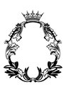 098 Royal Oval Frame Cutout