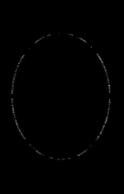 149 Ornate Oval Frame Cutout04