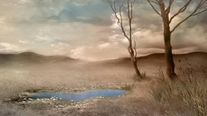 165 Sepia Landscape