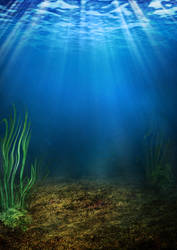 185 underwater background by Tigers-stock